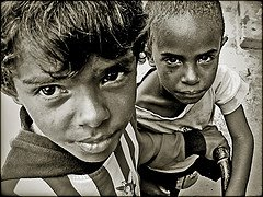 Niños de la calle brasileños